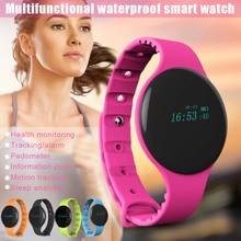 Bluetooth Smart Watch Sleep Monitor Sport Waterproof Wristwatch for Android IOS iPhone Samsung HJ55