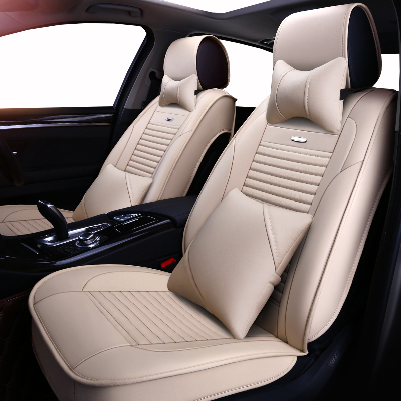 2x CAR FRONT SEAT COVERS PROTECTOR For Mercedes E-Class W211