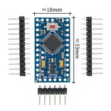 משלוח חינם! גרסה חדשה! 50 יח\חבילה ATMEGA328P פרו מיני 328 מיני ATMEGA328 5 V/16 MHz