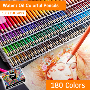 Фото - Colors Wood Water / Oil Colored Pencils Set Oil HB Drawing Sketch For Children Artist Colored Pencils School Gifts Art Supplies stabilo wooden colored pencils 2606803 colored pencil for boys and girls children sets