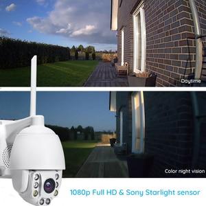 Image 3 - Mini PTZ Speed Dome IP 1080P HD Ngoài Trời Không Dây Wifi Camera Quan Sát Giám Sát Chống Nước Hồng Ngoại Nhìn Đêm cam