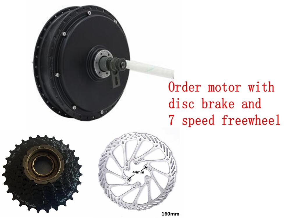 Electric bike brushless <font><b>Dc</b></font> Hub <font><b>Motor</b></font> 3000w for Electric Bicycle <font><b>3kw</b></font> Ebike Hub <font><b>Motor</b></font> image