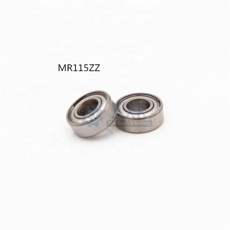 Metal Double Shielded Ball Bearing Bearings 5*11*4 5x11x4 mm MR115zz 20 Pcs