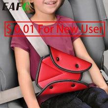 ユニバーサル車の安全シートベルトカバーソフト調整可能なトライアングル安全シートベルトパッドクリップ保護子供のためのベルト