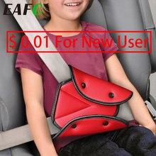 Evrensel araba güvenli emniyet kemeri kapak yumuşak ayarlanabilir üçgen emniyet emniyet kemeri Pad klipler bebek için koruma çocuk kemerleri
