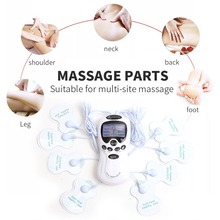 цены Tens Acupuncture Body Massager Puls Health Massager Dual Channel Muscle Stimulator Acupuncture Physiotherapy Massage Instrument