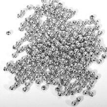 100шт 3мм 4мм 6мм длинный медь металл распорка свободные бусины золото% 2Fсеребро ожерелье браслет DIY ювелирные изделия поиск изготовление