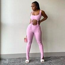 Vendaje Fitness a juego para mujer, conjuntos sin mangas de entrenamiento deportivo sólido de dos piezas, conjunto de Top y pantalones ajustados
