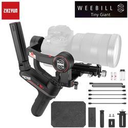 Zhiyun weebell S ، LAB 3-Axis Gimbal ل Mirrorless و كاميرات DSLR مثل سوني A7M3 ، 300% تحسين المحرك من 14 ساعة وقت التشغيل