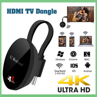 TV Stick 5G Airplay 4K Wireless WiFi Dongle anycast firenetflix android airplay plus pc google chromecast dvb t2 hdmi mini