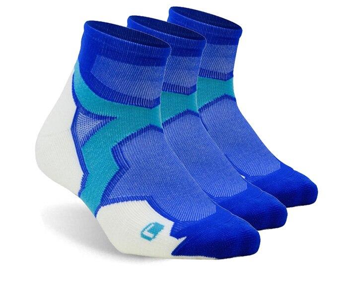 3 pares baixo corte correndo meias, zealwood tornozelo atlético meias, tênis meias
