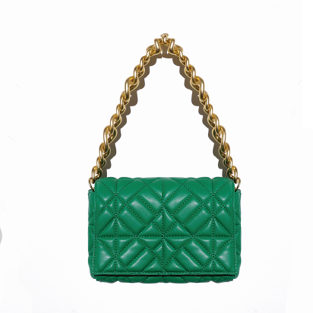 Branded Women's Shoulder Bags 2020 Thick Chain Quilted Shoulder Purses And Handbag Women Clutch Bags Ladies Hand Bag 5
