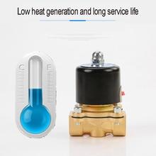 """DN08 DN10 DN15 DN20 DN25 1/"""" 3/8"""" 1/"""" 3/4"""" """" электромагнитный клапан 12 В 220 В пневматический клапан для водяного масла Гелиевого газа"""