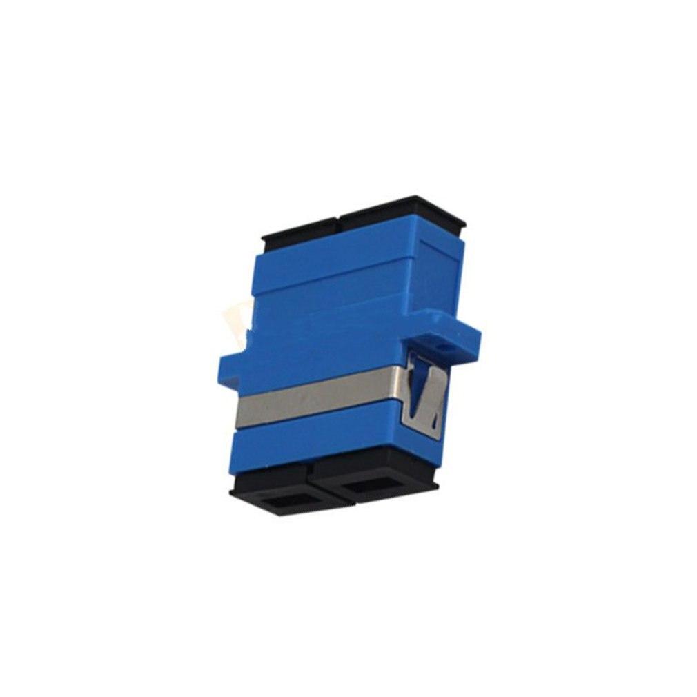 Duplex Fiber Coupler Flange Adapter SC-SC Terminal Box Connector