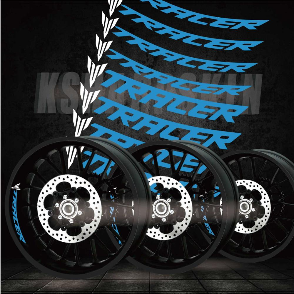 New Modified Motorcycle Personality Creative Waterproof Reflective Stickers Decorative Film Suitable For YAMAHA TRACER