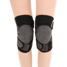 2pcs/set Tourmaline Self Heating Knee Pads Support Knee Brace Warmer Magnetic Therapy Kneepad for Arthritis Joint Pain Relief(China)
