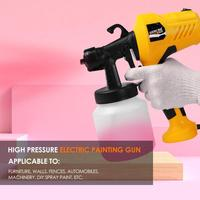 220V 400W Spray Gun Craft Chocolate Cake Painting Tool Spray Model Gun Airbrush Injection Rate and Flow Rate Can Adjust