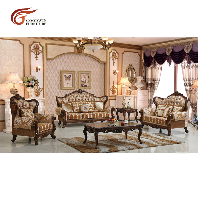 Victorian style sofa living room sets luxury for home ...