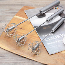 Whisk Hand-Blender Egg-Beater Cooking-Tools Manual Stainless-Steel Kitchen Semi-Automatic