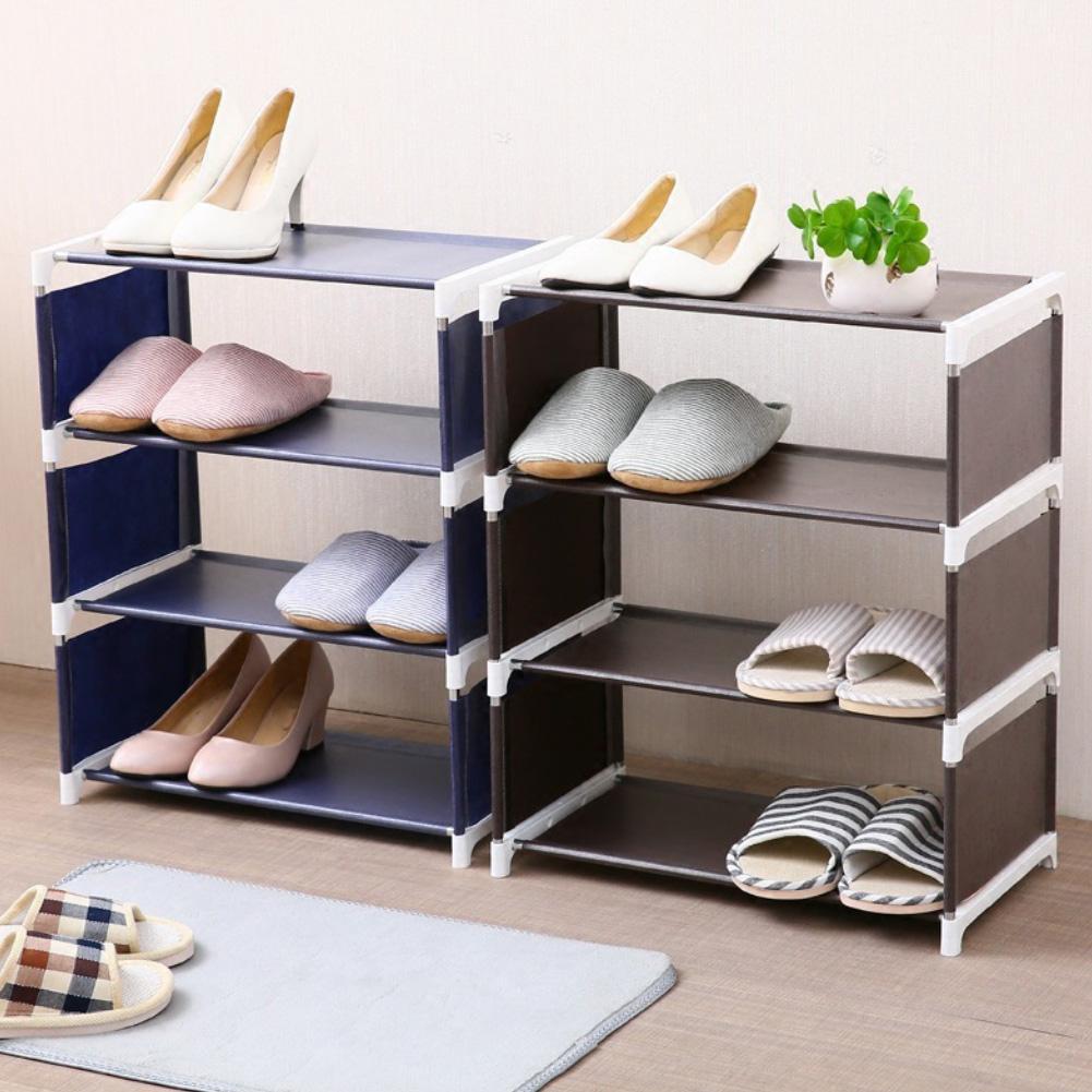 New 3/4/5 Layers Home Living Room Bedroom Shoes Storage Rack Cloth Shelf Organizer Modern Multi-functional Bedroom Storage