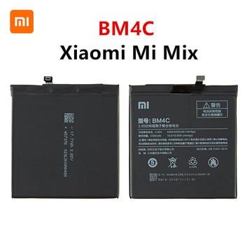 Xiao mi 100% Orginal BM4C 4400mAh Battery For Xiaomi Mi Mix BM4C High Quality Phone Replacement Batteries high quality for xiao mi bm51 battery 5400mah in stock