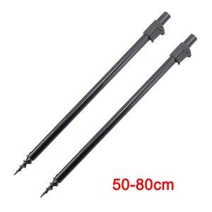 Image 5 - Conjunto de vara de pesca de carpa, 2 peças, varas bancárias e 2 peças, barras de buzz para equipamento de pesca grossa