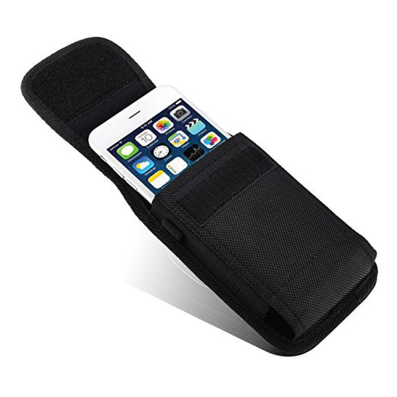 High Quality Nylon Fabric Mobile Phone Storage Waist Bag Practical Durable Phone Bag Suitable For 3.5-6.3inch Smartphone