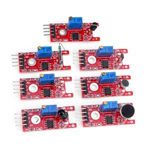 Image 3 - For arduino 45 in 1 Sensors Modules Starter Kit better than 37in1 sensor kit 37 in 1 Sensor Kit UNO R3 MEGA2560