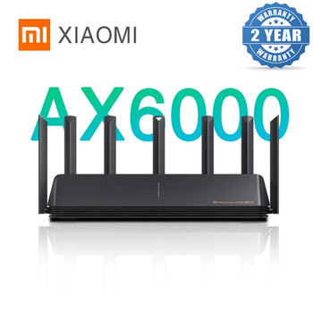 2021 New Xiaomi AX6000 AIoT Router 6000Mbs WiFi6 VPN 512MB Qualcomm CPU Mesh Repeater External Signal Network Amplifier Mi Home 1