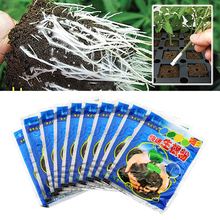10 Bags 10g Rooting Powder Root Seedling Germination Aid Flower Anther Fertilizer