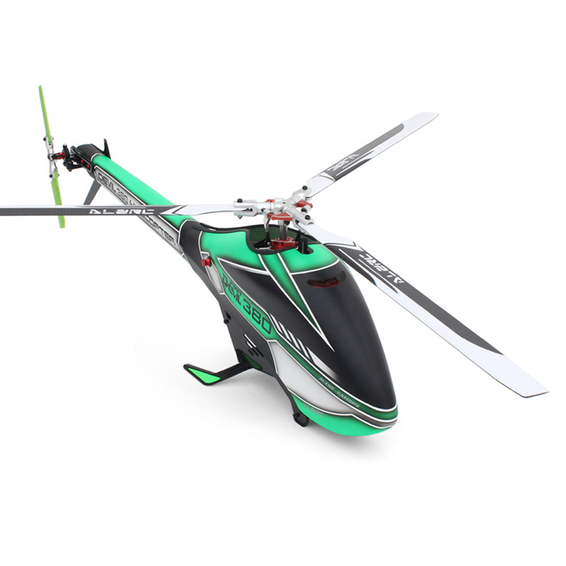 ALZRC - Devil 380  TBR KIT Helicopter 380 RC Helicopter- Silver - 2019
