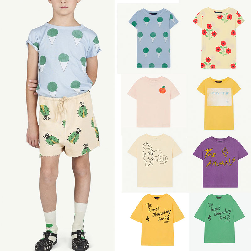 So Beautiful Children Boys Summer Tshirt Girls Fashion T Shirt TAO 2020 New Summer Children Short Sleeve Tees Cotton Loose Tops