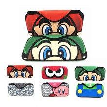 Nintendo anahtarı durumda NS EVA oyun konsolu taşıma saklama çantası darbeye dayanıklı taşınabilir yumuşak koruyucu kılıf kapak