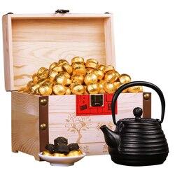 Сжатый Мини Пуэр чай аромат Клейкого Риса ПУ-эрх Чай Сжатый Мини Пуэр чай ферментированный чай Подарочная коробка установлен 750 г