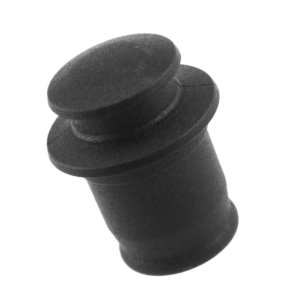 BLACK Auto Cigarette Lighter Dust Cover Cap Socket 12 Volt Power Receptacles