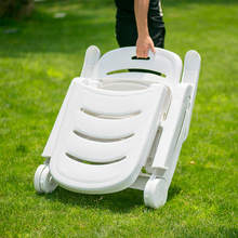 Beach With Bag Outdoor Picnic BBQ Fishing Camping Chair Seat Portable Folding Chairs Plastic Lightweight Swimming Pool