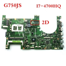 G750JS motherboard Mit i7-4700HQ CPU 2D mainboard für ASUS G750J G750JS laptop motherboard MAIN BOARD 60NB04M0-MB1130