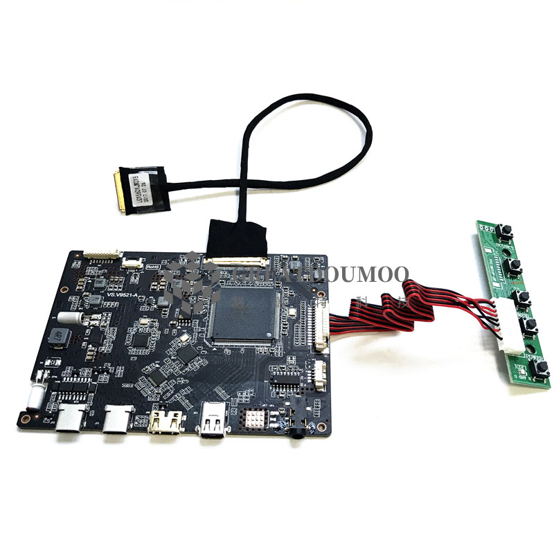 3840X2160 QFHD 4K LCD Panel Type-C Controller Board With HDMI/TYPE-C/DP//USB-OTG/AUDIO Support Lcd 15.6 Inch 40 Pin LQ156D1JX01