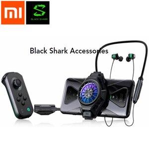 Image 1 - Xiaomi noir requin 1/2/3 Pro Kit de support de manette de refroidissement arrière pince Funcooler jeu contrôleur support gauche droite joystick 3.0