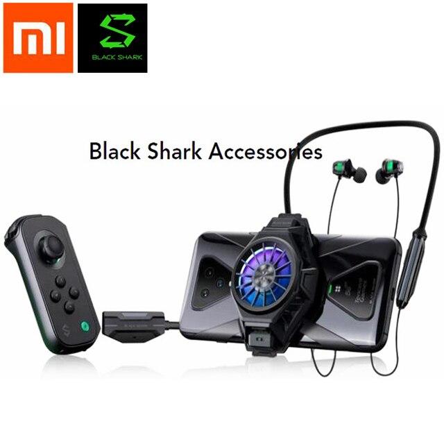 Xiaomi noir requin 1/2/3 Pro Kit de support de manette de refroidissement arrière pince Funcooler jeu contrôleur support gauche droite joystick 3.0