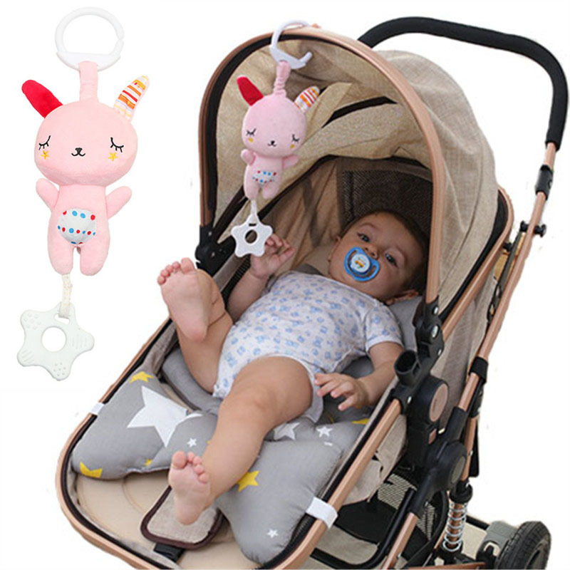 Primary Trolley Wan Ou Chuang Trailer Hanging Infant Pendant Pacify Music 0-1-Year-Old Newborns Unisex Wind Chime Toy