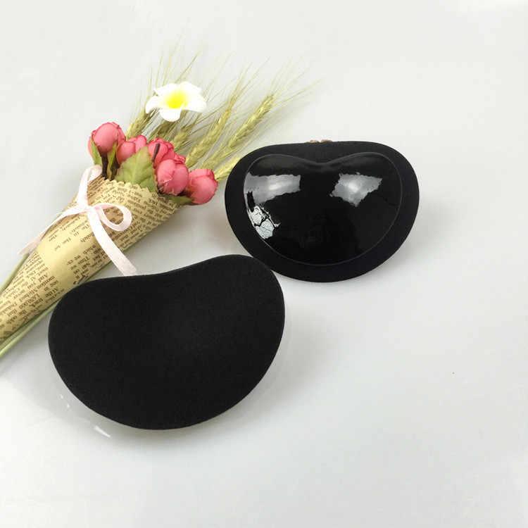 ผู้หญิงBra Pad Breast Push Up PadsหัวใจPadding Magic Braใส่แผ่นPush Up Gel Adhesive Breast Enhancerผู้หญิงbra Pads #40