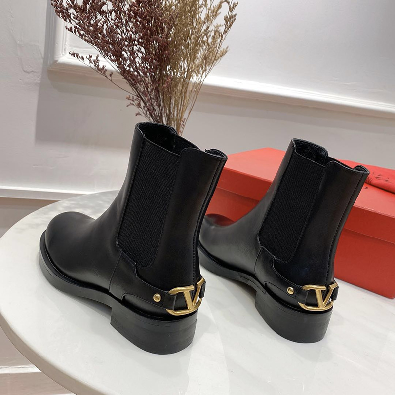 Brand Winter Chelsea boots women genuine leather Thick sole platform Winter Shoes Black Short Ankle boots for women|Ankle Boots| - AliExpress