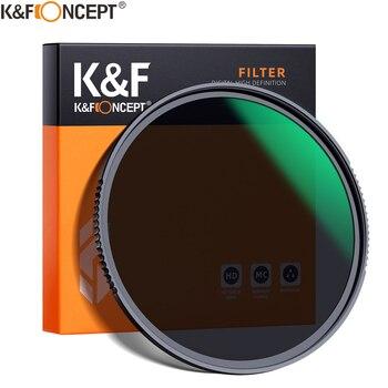 K&F Concept HD ND8 Filter Camera Lens Multi-Resistant Nano X Coating Filter Density 49mm 52mm 58mm 62mm 67mm 72mm 77mm 82mm 1