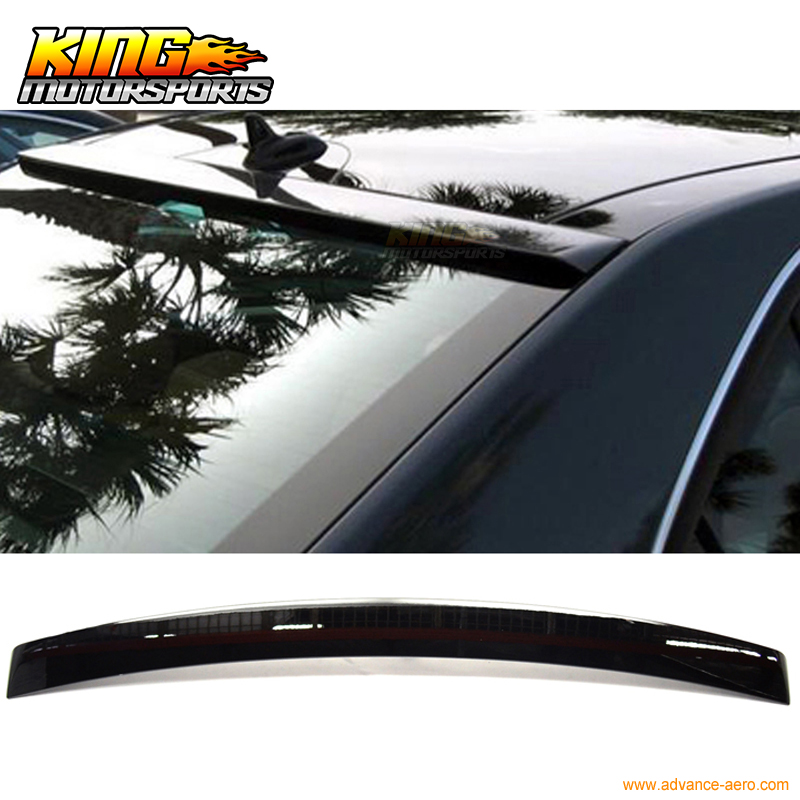 Fit 10 14 Benz E Class W212 ABS Roof Spoiler OEM Painted Match # 040 Black|roof spoiler|abs spoiler|w212 roof spoiler - title=
