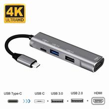 цена на Phone Adapter for Samsung S9 Plus Note 9 Dex Cable USB C to HDMI Adapter for Macbook Type C Hub for Huawei Mate P20 Pro
