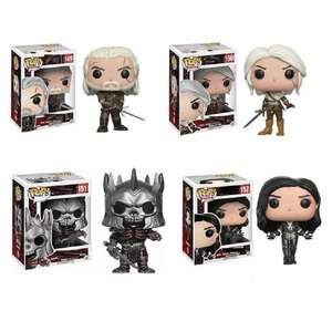Funko POP The Witcher 3 Wild Hunt#149 Geralt #151 Eredin #150 Ciri  Action Model Figures Toys Yennefer 152# for Children Gifts