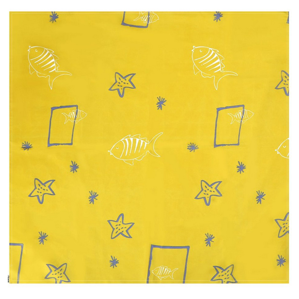 Washable Splat Accessories Portable Foldable Cartoon Print Anti Slip Waterproof Baby Floor Protector Practical Splash Mat