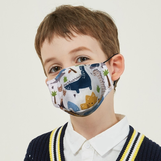Children Mouth Mask Anit-flu With Breath Design Replaceable Filter Anti Dust Mouth Mask PM2.5 Respirator Kids Face Mask 1