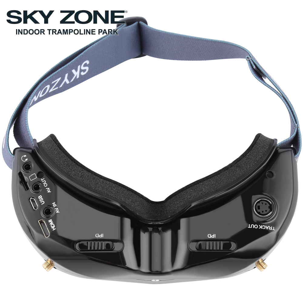 Image 4 - SKYZONE SKY02C/SKY02X 5.8Ghz 48CH FPV Goggles Support 2D/3D HDMI Head Tracking With Fan DVR Camera For RC Plane Racing FPV DroneParts & Accessories   -